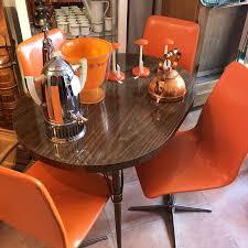 70er jahre stühle in orange antikhandel gießen