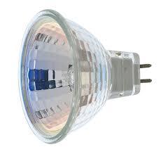 satco s1960 50 watt mr16 halogen gx5 3 base 12 volt clear fl 36