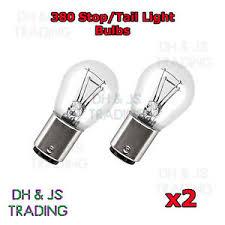 2 x 380 rear brake light bulbs car auto bulb vauxhall