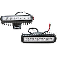 2pcs 18W Flood LED Light Rectangle Bar Offroad Lights 4WD LED ... Car Fog Lights For Toyota Land Cruiserprado Fj150 2010 Front Bumper 1316 Hyundai Genesis Coupe Light Overlay Kit Endless Autosalon Pair Led Offroad Driving Lamp Cube Pods 32006 Gmc Spyder Oe Replacements Free Shipping Hey You Turn Your Damn Off Styling Led Work Tractor For Truck 52016 Mustang Baja Designs Mount Baja447002 Jw Speaker Daytime Running And Fog Lights Toyota Auris 2007 To 2009 2013 Nissan Altima Sedan Precut Yellow Overlays Tint Oracle 0608 Ford F150 Halo Rings Head Bulbs 18w Cree Led Driving Light Lamp Offroad Car Pickup