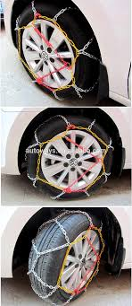 100 Snow Chains For Trucks Hotsale Wheel 4wd Series 4x4 Tire Car