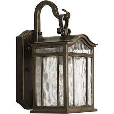progress lighting p5715 108 1 light small outdoor wall lantern