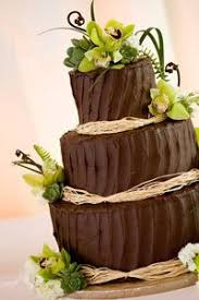 A Rather Traditional Wedding Cake