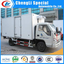 China Foton Ice Cream Forzen Food 4X2 Refrigerator Truck - China Ice ...