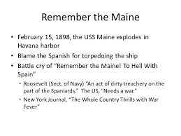 Sinking Of The Uss Maine Apush by Apush Ii Unit 1 Chapter 20 The Commonwealth And Empire Ppt Download