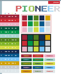 Pioneer Color Schemes Combinations Palettes For