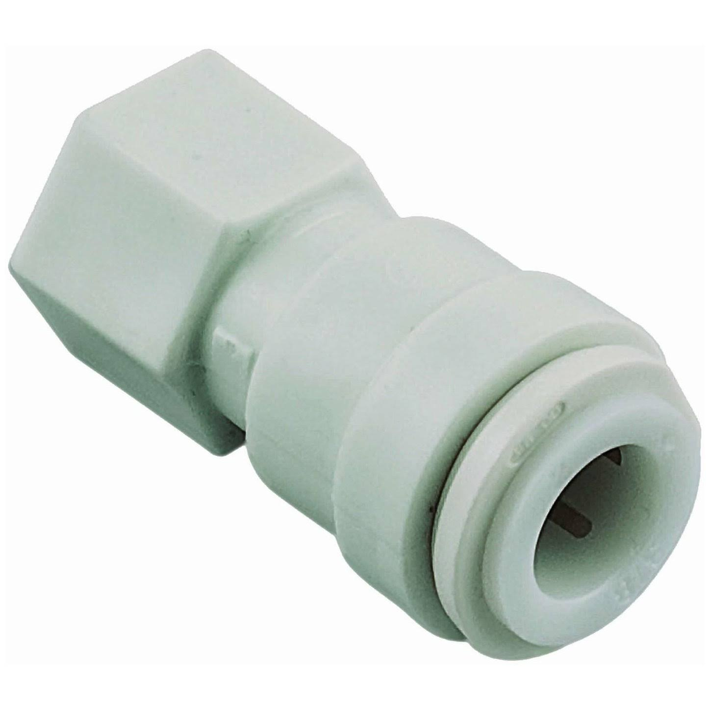 "Watts PL-3060 Push Female Adapter - 1/4"" OD x 1/4"" FPT"