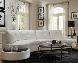 contemporary white leather sectional sofa wonderful living room