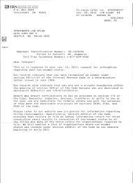 SPLAB s IRS Determination Letter 1 25 11