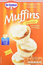 dr oetker muffins zitrone 4er pack 4 x 415 g