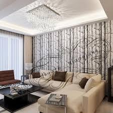 großhandel 10 meter los birkenbaum holz tapete vlies rollen moderne designer wandbekleidung einfache tapete für wohnzimmer dhgate xiaoqiang