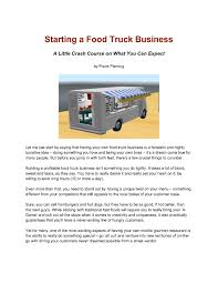 100 Trucking Company Business Plan 9 Food Truck Examples PDF Examples