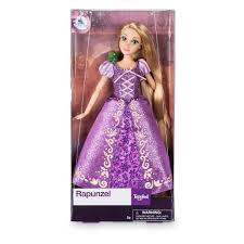 Rapunzel Plush Doll In Winter Cape Medium Disney Store