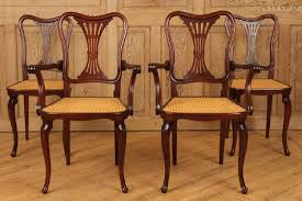 FOUR SIGNED THONET ART NOUVEAU DINING CHAIRS - May 16, 2019 ... Set Of 4 Quality Art Nouveau Golden Oak High Slat Back Ding Chairs 554 Art Nouveau Ding Table And Chairs 3d Model Vintage 6 Antique French 1900 Walnut Nailhead Set 8 Edwardian Satinwood Beech Four Art Nouveau Louis Majorelle Ding Chairs Jan 16 2019 Room And Sale Mid Century Hand Made Game By Terry Bostwick Casa Padrino Luxury Dark Brown Cream 51 X Round In The Unique Timeless Tufted Armchair Chair Blue Velvet Navy 1900s Vinterior