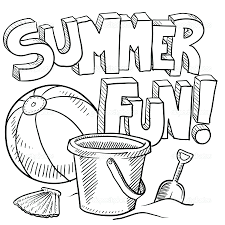 Awesome Free Summer Coloring Pages Contemporary In For Middle School Easy Printable Adults Full Size
