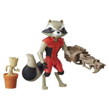 Marvel Guardians of the Galaxy Action Figure - Rocket Raccoon