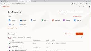 Microsoft Updates fice 365 Web Experience
