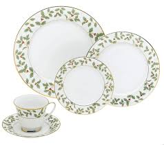On The Top Two Right Shelves I Have New Christmas China Pattern That Received For My Birthday This Year It Is Noritake Holly And Berry