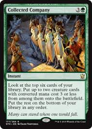 what should you be doing with collected company in modern