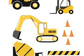 100 Construction Trucks SVG Files