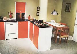 1970s Kitchen Orange