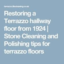 Cleaning Terrazzo Floors With Vinegar by How To Deep Clean Terrazzo Tile Floors Terrazzo Tile Terrazzo