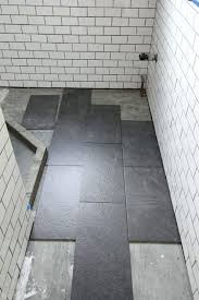Gray Bathroom Floor Tile Black And White Designs