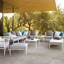 Gloster Outdoor Furniture Australia by Furniture Bloc Ottoman Bold By Gloster Furniture Plus Cushions