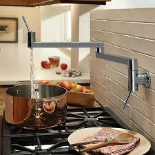 Pot Fillers Contemporary Pot Filler Kitchen Faucet from DXV