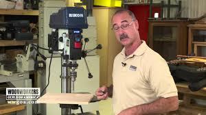 rikon drill press review youtube