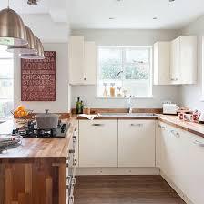 Modern White Kitchen With Colourful Kitchenware
