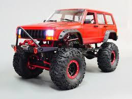 100 Rc Scale Trucks RC Truck Body Shell 110 JEEP CHEROKEE Hard Body INTERIOR
