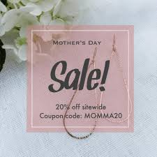 Our Mother's Day Sale Is Now Live! Use... - A. Blase Jewelry ... Totes 30 Off Sitewide Auto Open Umbrella W Neverwet Sunguard Expired Click To Get Djicom Coupon Codes Discount Save Updates From Goellnerd On Etsy Mifygoods Volcom Coupon Code Alphabet Otography Timbuk2 Hero Bracelets Yebhi Discount Codes 2018 Paypal Etsy Natural Deodorant Tropical Hawaiian Baking Soda Free For Women Womens Our Mothers Day Sale Is Now Live Use A Blase Jewelry Bijoucandlescom Coupons Promo November 2019