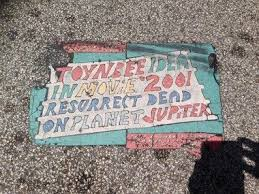 what do we know about the mystery of the toynbee tiles a leading