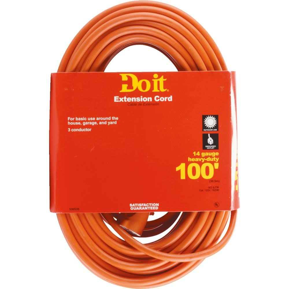 Do It Heavy-Duty Outdoor Extension Cord - 100'