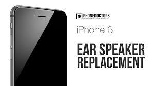 How to iPhone 6 Ear Speaker Repair Video
