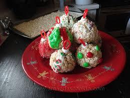 Rice Krispie Christmas Tree Ornaments by Rice Krispy Treat Gingerbread Men Amanda U0027s Cookin U0027