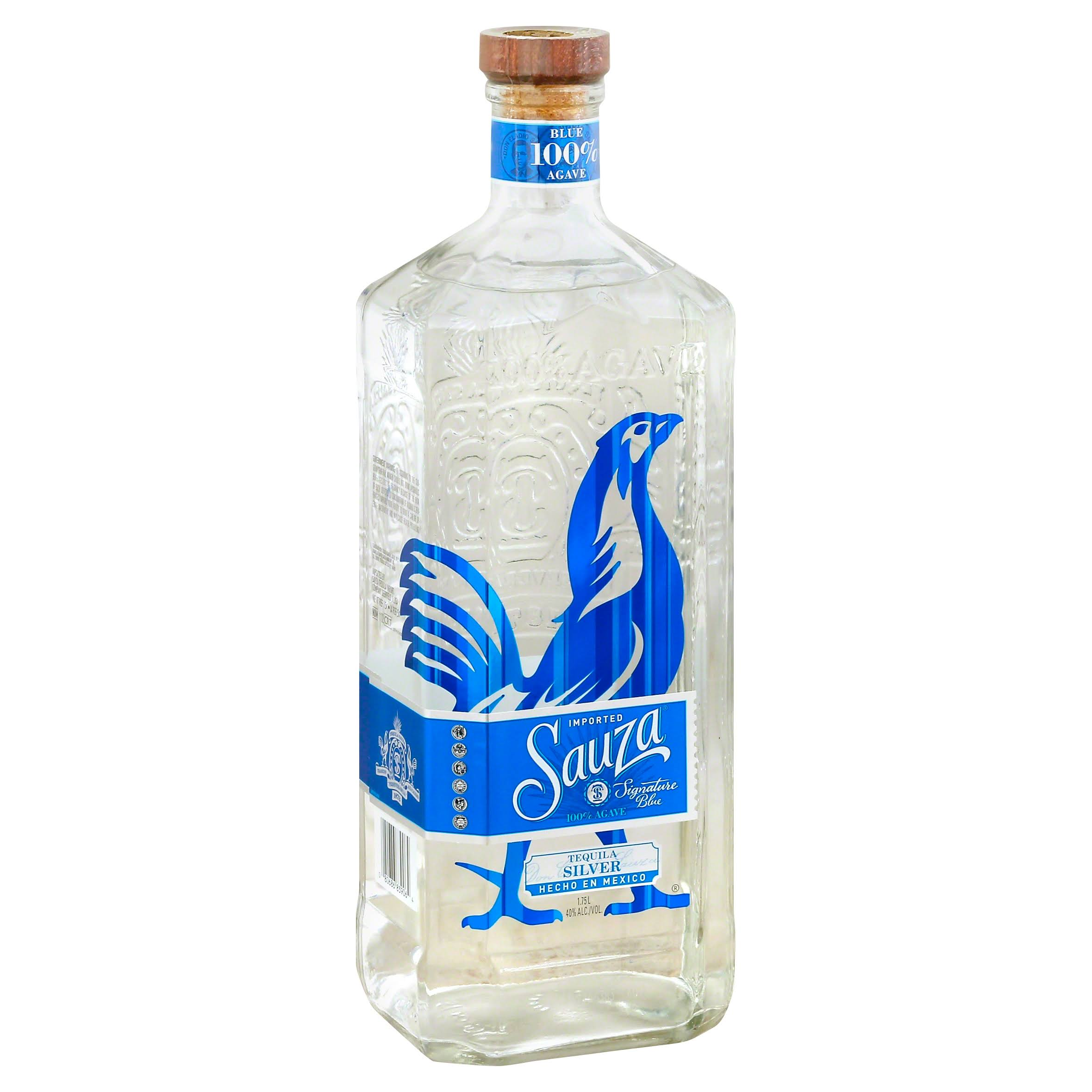 Sauza Blue Silver Tequila - 1.75 L bottle