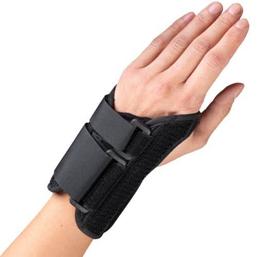 OTC 6in Wrist Splint - Left, Black, S