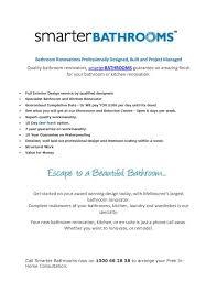 Bathroom Renovations Melbourne Beautiful New Calaméo Bathroom Showrooms Design