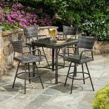 outdoor dining sets bar height video and photos madlonsbigbear com