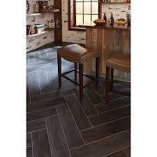 shop stainmaster 6 in x 24 in groutable casa italia gray brown