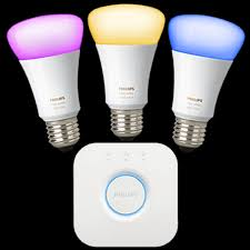 philips hue color connected light bulb starter kit verizon
