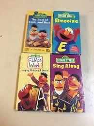 Sesame Street A Magical Halloween Adventure Vhs by Lot Of 3 Sesame Street Vhs Tapes Educational 6 99