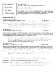 Sample Police Officer Resume Examples Objectives