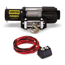 Champion Power Equipment 4500 Lb. ATV/UTV Winch Kit-40252 - The Home ... Used 16x Dp Winch 51882 25t Work Boatsbarges Price 7812 For Sale Superwinch Industrial Winches Cline Super Winch Truck Triaxle Tiger General Econo 100 Lb Recovery Trailer Tstuff4x4 1986 Mack R688st Oilfield Truck Sold At Auction Trucks Trailers Oil Field Transport And Heavy Haul Sale Llc Rc Adventures 300lb Line The Beast 4x4 110 Scale Trail Stock Photos Images Alamy A Vehicle Onto Car Tow Dolly Youtube