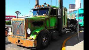 100 Rat Rod Semi Truck Welderup Peterbilt Swamp A SEMA 2015 YouTube