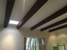 100 Beams On Ceiling Do It Yourself Stained Faux Wood Workshop