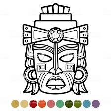 Coloriage Totem Pole