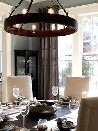 Rustic Dining Lighting Industrial
